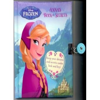 Disney Frozen Anna's Book of Secrets - Hardback - 2013
