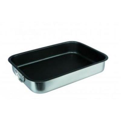 IBILI - Ustensiles et accessoires de cuisine - plat a rôtir inox 35x26x6.5 cm ( 6513-35-4 )