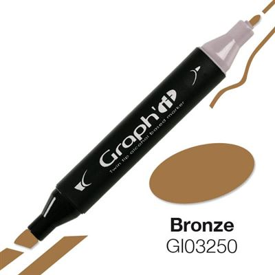 Marqueur à l'alcool graph'it 3250 bronze - graph it