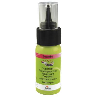 Peinture pour tissu - Vert tilleul - 29 ml