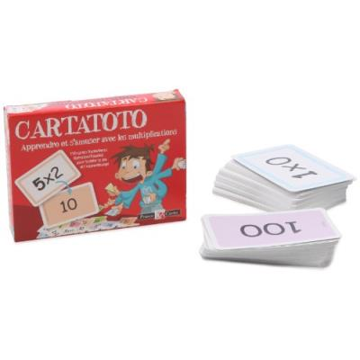 France Cartes - Jeu de cartes - Cartatoto : Multiplications