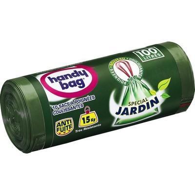 Sac HANDY BAG 100L jardin poignées coulissantes
