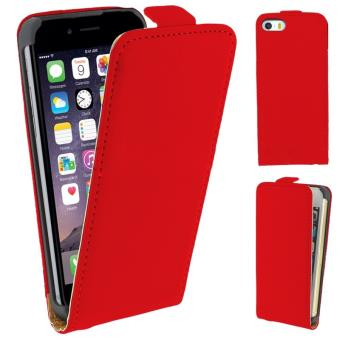 coque iphone 6 clapet rouge