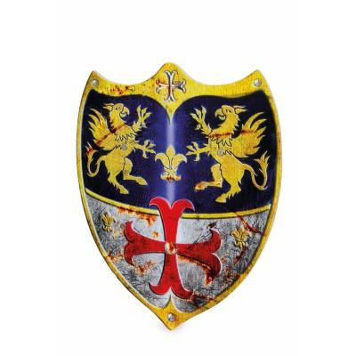 Bouclier de chevalier Léopold