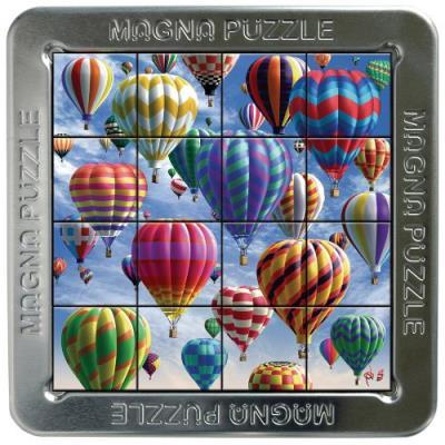 Puzzle 3d 16 pièces : magna puzzle : montgolfières