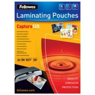 Fellowes sac ... film laqu, format a4, mat, 250 mic 5328501
