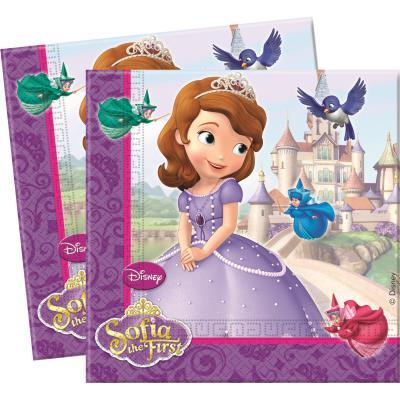 Serviettes Princesse Sofia© x20 - Disney©