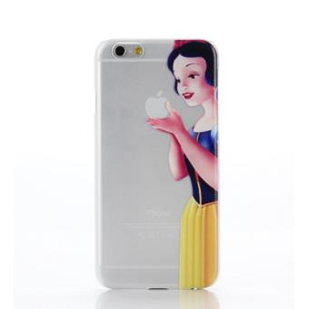 Coque silicone iphone 5 5s se blanche neige pomme for On se lave blanche neige