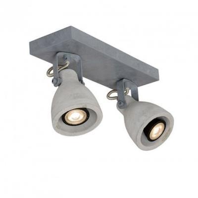Lucide Spot double Concri LED Gris
