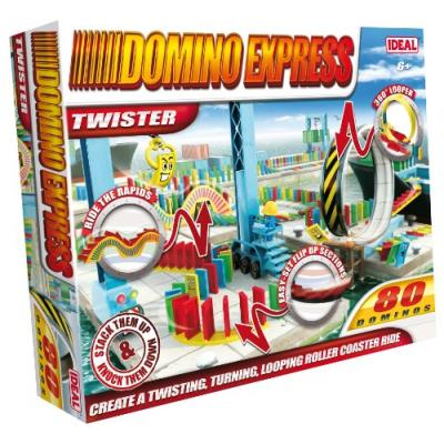 Domino express - original - twister - 80 dominos (import royaume-uni)