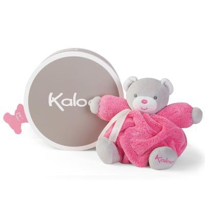 Kaloo Plume : Patapouf ourson framboise (Petit) Kaloo