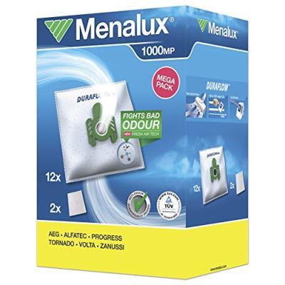 Menalux 1000 mp 12 sacs aspirateur avec 2 micro filtres