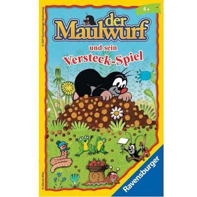 Ravensburger - Jeu en Allemand - Mitbringspiele : Der Maulwurf und sein Versteck-Spiel