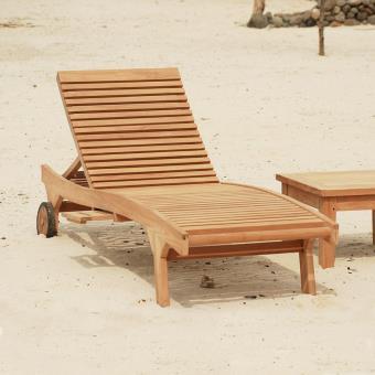 -20% sur Bain de soleil Palma en teck haut de gamme - Mobilier de Jardin -  Achat   prix   fnac 293e7c9e1fdc