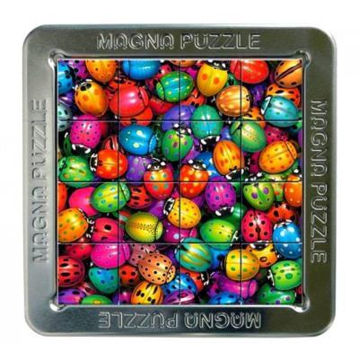 Puzzle 3d 16 pièces : magna puzzle : coccinelles