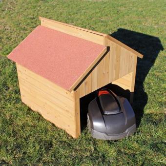 cabane de jardin ou garage pour robot tondeuse mobilier de jardin achat prix fnac. Black Bedroom Furniture Sets. Home Design Ideas
