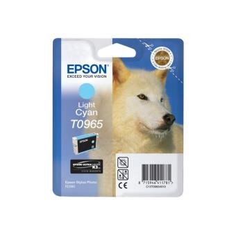 Cartouche Epson T0965 cyan clair UltraChrome K3
