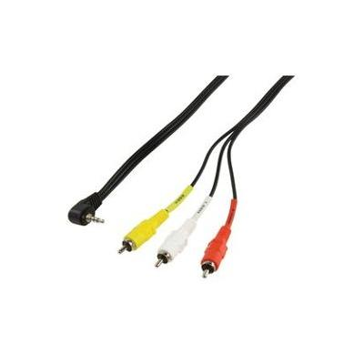 CABLING® Cable jack caméra Sony JVC Canon 2M