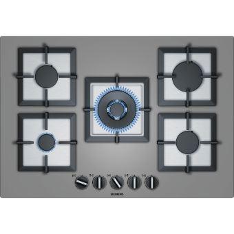 table de cuisson gaz 5 feux siemens ep7a8qb20 achat prix fnac. Black Bedroom Furniture Sets. Home Design Ideas
