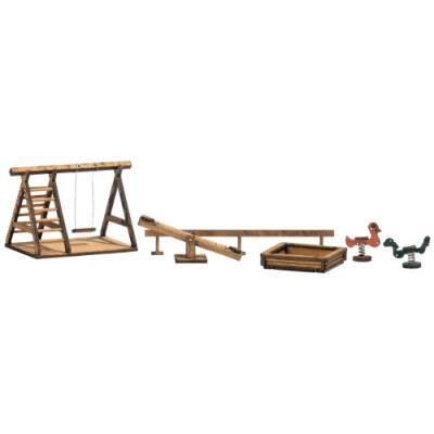 Busch environnement - bue1485 - modélisme ferroviaire - aire de jeux