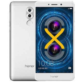 smartphone honor 6x octa core double carte sim double cam ra arri re 64go argent smartphone. Black Bedroom Furniture Sets. Home Design Ideas