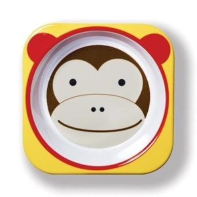 Skip hop bol - singe ski-zoo-bowl-monkey