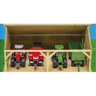 kids globe 610047 hangar en bois pour tracteurs chelle 1 50 achat prix fnac. Black Bedroom Furniture Sets. Home Design Ideas