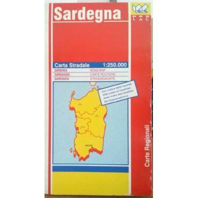 Regional Map Sardegna
