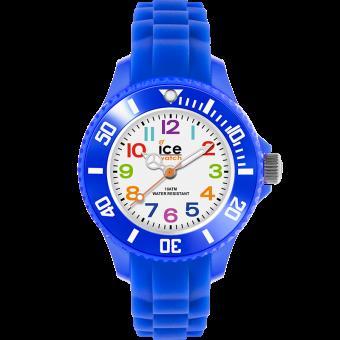 montre ice watch ice mini mn be m montre enfant bleu blanc silicone achat prix fnac. Black Bedroom Furniture Sets. Home Design Ideas