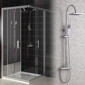 Pommeau de douche moderne à température constante - Accessoires ...