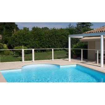 Portillon transparent pour barrière de piscine keter chalet & jardin ...