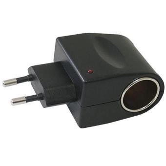 adaptateur universel de chargeur allume cigare vers une prise de secteur chargeur pour. Black Bedroom Furniture Sets. Home Design Ideas