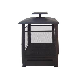 chemin e d 39 ext rieur pagode chauffe terrasse grillag. Black Bedroom Furniture Sets. Home Design Ideas