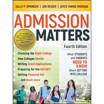 Admission Matters 4Th Edition