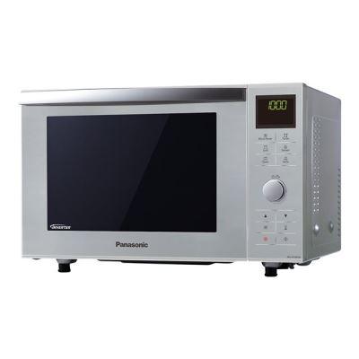 Panasonic NN-DF385MEPG - Slimline - four micro-ondes combiné - grill - pose libre - argenté(e)
