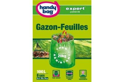 Sac HANDY BAG Gazon - feuilles 100L 1 sa
