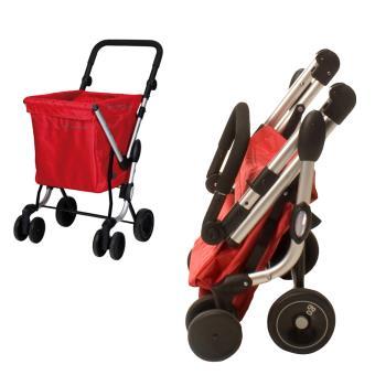 playmarket caddy we go chariot de courses playmarket rouge achat prix fnac. Black Bedroom Furniture Sets. Home Design Ideas