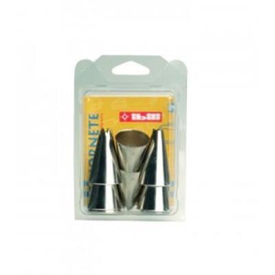 IBILI - Ustensiles et accessoires de cuisine - lot de 6 douilles nickelées ( 000934-1 )