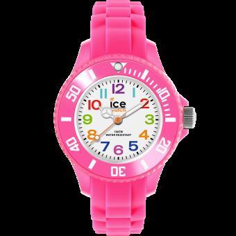 acheter mieux plus tard sensation de confort Montre Ice Watch Ice-Mini MN.PK.M.S.12 - Montre Enfant Rose Fluo Silicone