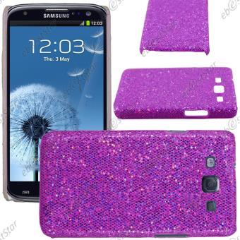 ebestStar ® pour Samsung Galaxy S3 i9300 i9305 - Etui Housse Coque Rigide à paillettes, Couleur Violet