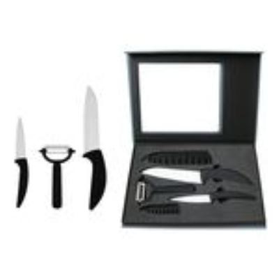 Set de 3 pièces couteaux en céramique fourreaux amefa 3546696616103