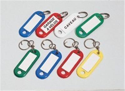 Boîte de 100 porte-clefs noirs avec émerillon Solveig, Etiquettes et  marque-page, Top Prix   fnac cc6fd4ef576