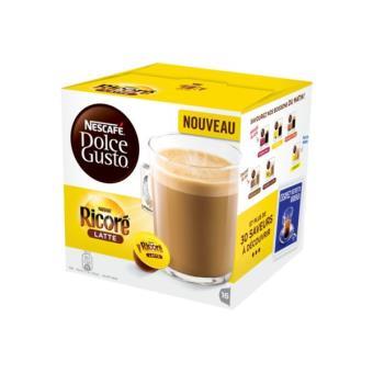 Dosettes et café Dolce Gusto NESCAFE Nescafé Ricore au lait Dolce Gusto
