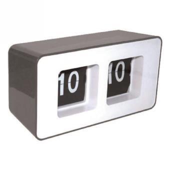 aic horloge r tro vintage flip flap grise pendule ou horloge top prix fnac. Black Bedroom Furniture Sets. Home Design Ideas