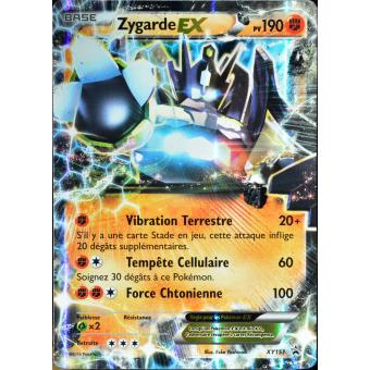carte pok mon xy151 zygarde ex 190 pv jeu de cartes achat prix fnac. Black Bedroom Furniture Sets. Home Design Ideas
