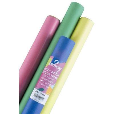 Canson - papier de soie,rouge, dimensions: 0,5 x 5,0 m, 20g m2(992662) 200992662