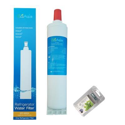 Filtre Ecoaqua Eff6002A Remplace Whirlpool Sbs002, Sbs001, Sbs200 + 1 Microban Antibactérien