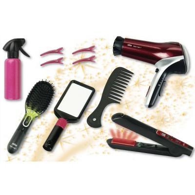 Klein - Mega set de coiffure - Braun : Satin Hair