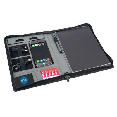 SPIRIT - Housse Organiser tablette book avec power bank