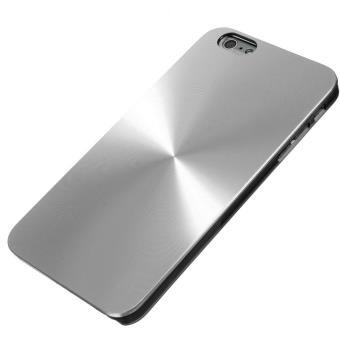 BPFY Coque Iphone 6 6S en Aluminium ARGENT
